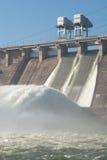 Hydroelektryczna elektrownia Zdjęcia Royalty Free