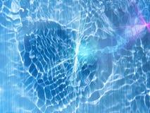 wodne prąd fala Obrazy Stock