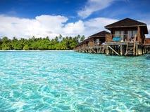 Wodne wille, Maldives Obraz Royalty Free