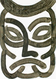 Wodnego colour maski ilustracja ilustracja wektor