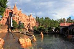 Wodnego kabotażowa Dzika Zachodnia sceneria Zdjęcia Royalty Free