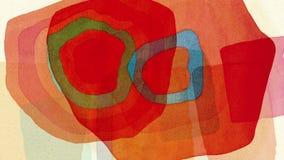 Wodnego koloru pętli tło 02 ilustracja wektor
