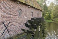 Wodnego młynu berenschot w Winterswijk w holandiach Zdjęcia Stock