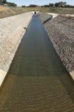 Wodny dywersja kanał Obrazy Stock