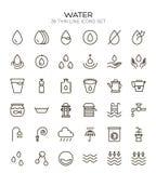 Wodnej linii ikona royalty ilustracja