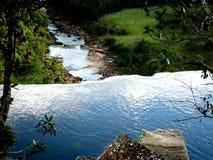 wodnej siklawy sawanny Amazon Wenezuela wielka zieleń Obraz Royalty Free