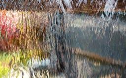 Wodnej zasłony siklawa Zdjęcie Royalty Free