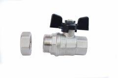Wodni Faucets dla domowej dostawy wody lub hearting systemów fotografia stock