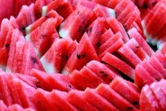 Wodni melonów plasterki Obraz Royalty Free