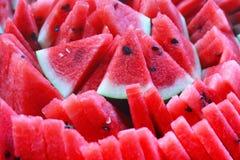 Wodni melonów plasterki Obraz Stock