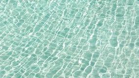 Wodni odbicia czysty pływacki basen - wodny caustics postanowienie zdjęcie wideo