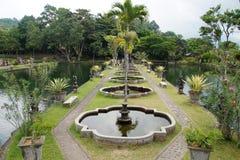 Wodni ogródy Tirta Gangga, Indonezja zdjęcia stock