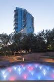 Wodni ogródy w Fort Worth, TX, usa Obrazy Royalty Free