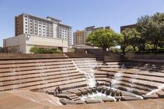 Wodni ogródy w Fort Worth, TX, usa Obrazy Stock