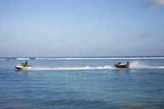 Wodni sporty na Maldives kurort na wyspie Zdjęcia Stock