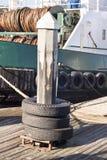 Wodniactwo doku pilon Obrazy Stock