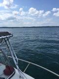 Wodniactwo na jeziorze Obraz Stock