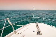 Wodniactwo w Dubaj Zdjęcia Royalty Free