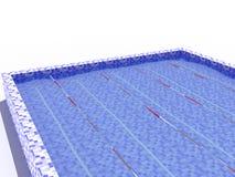 Wodny basen dla pływać -1 Zdjęcia Stock
