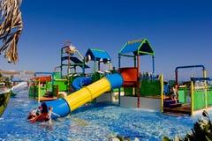 Wodny boisko dla dzieciaków Zdjęcia Royalty Free