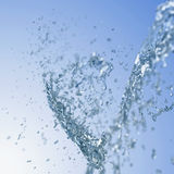 Wodny chełbotanie. Obrazy Stock