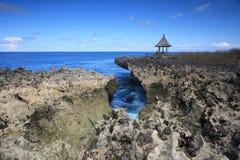 Wodny cios, Nusa Dua, Bali Indonezja Zdjęcie Royalty Free