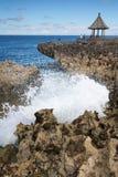 Wodny cios, Nusa Dua, Bali Indonezja Fotografia Stock