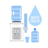 Wodny Cooler Zdjęcie Royalty Free