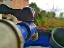 Wodny faucet zdjęcie royalty free