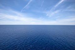 Wodny horyzont Zdjęcie Royalty Free