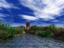 wodny koło Fotografia Royalty Free