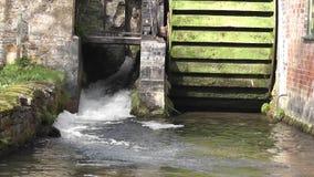 Wodny młyn zdjęcie wideo