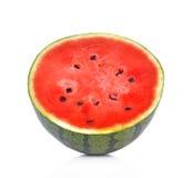 Wodny melon na białym tle Fotografia Stock