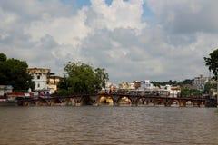 Wodny miasto: udaipur Obraz Stock