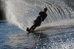 Wodny narciarstwo w Parker Arizona Zdjęcia Royalty Free
