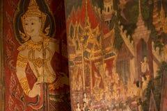 Wodny obraz w Buddhaisawan kaplicie obrazy royalty free
