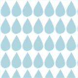 wodny opadowy dżdżysty wzór Fotografia Stock