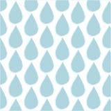 wodny opadowy dżdżysty wzór Obrazy Stock