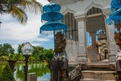 Wodny pałac Udjung bali Indonesia fotografia stock