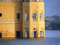 Wodny pałac Zdjęcie Stock