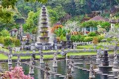 Wodny pałac Tirta Gangga w Wschodnim Bali Zdjęcia Stock