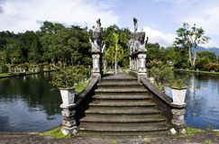 Wodny pałac Tirta Gangga w Wschodnim Bali Fotografia Royalty Free