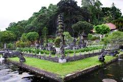 Wodny pałac Tirta Gangga w Wschodnim Bali Zdjęcie Stock