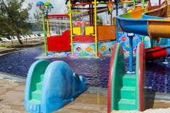 Wodny park dla dzieci Obraz Royalty Free