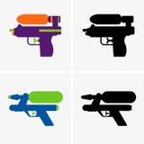 Wodny pistolet royalty ilustracja