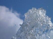Wodny pluśnięcie w powietrzu Obraz Royalty Free