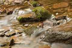 Wodny przepływ w rzece Zdjęcie Royalty Free