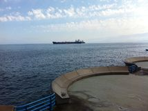 Wodny przodu DT Lebanon Obrazy Royalty Free