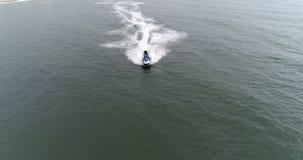 Wodny rower wzd?u? pla?y zdjęcie wideo