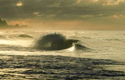 Wodny spływowy bieg zdjęcia royalty free